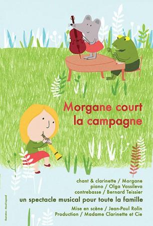Morgane court la campagne